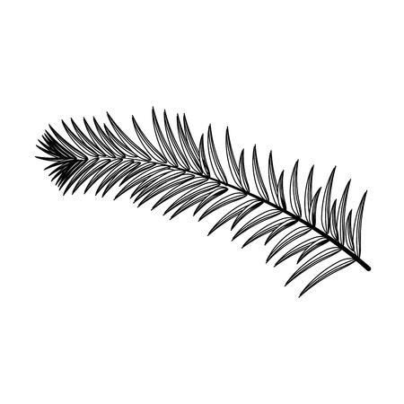 Plant ecology symbol icon vector illustration graphic design Illustration