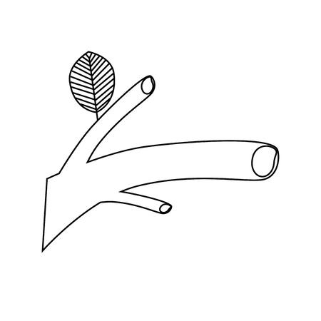 Plant ecology symbol icon vector illustration graphic design Ilustração