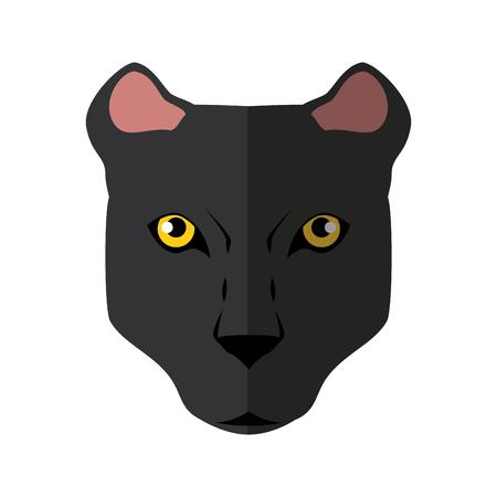 Wild animal jaguar icon vector illustration graphic design