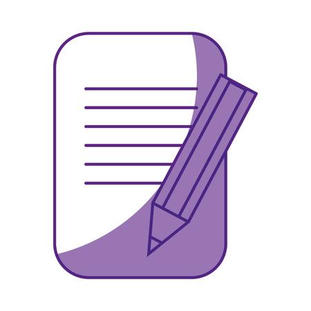 ビジネス ドキュメントのシンボル アイコン ベクトル イラスト グラフィック デザイン  イラスト・ベクター素材