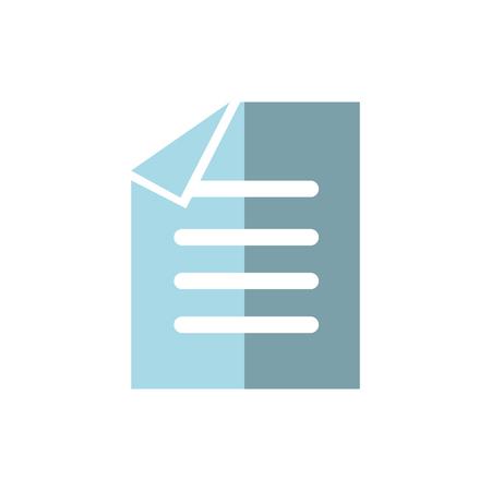 Van het het pictogram het vectorillustratie van het bedrijfsdocumentensymbool grafische ontwerp