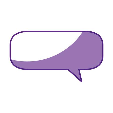 Bubble chat symbol icon vector illustration graphic design