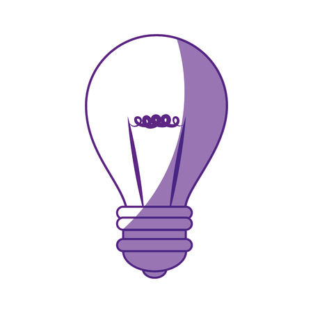 전구 빛 에너지 아이콘 벡터 일러스트 그래픽 디자인