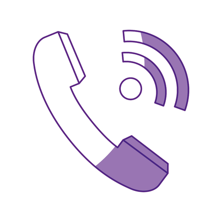 Telephone isolated symbol icon vector illustration graphic design