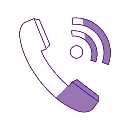 Telephone isolated symbol icon vector illustration graphic design Stock fotó - 80451301