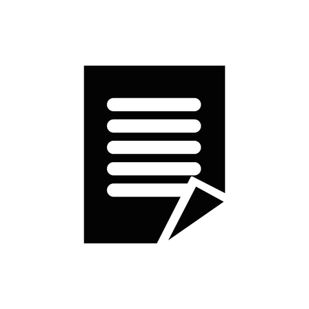 Business document symbol icon vector illustration graphic design