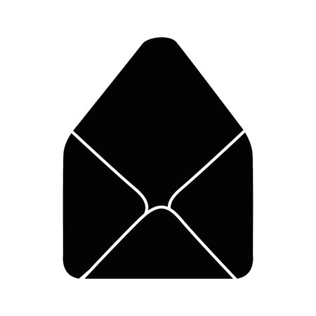 Email isolated symbol icon vector illustration graphic design Illusztráció