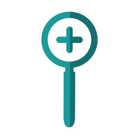 拡大鏡ルーペ アイコン ベクトル イラスト グラフィック デザイン 写真素材 - 80451500