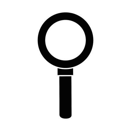 Magnifying glass lupe icon vector illustration graphic design 向量圖像
