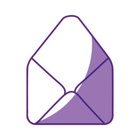 이메일 격리 된 기호 아이콘 벡터 일러스트 그래픽 디자인 스톡 콘텐츠
