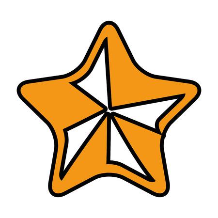 favourite: Star rate symbol icon vector illustration graphic design