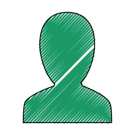 男性プロファイル シルエット アイコン ベクトル イラスト グラフィック デザイン