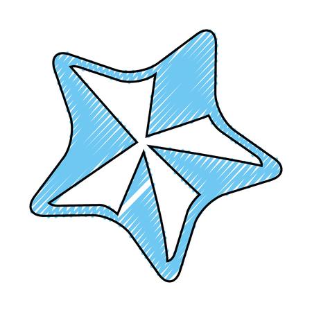 Star rate symbol icon vector illustration graphic design