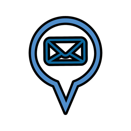 Email isolated symbol icon vector illustration graphic design Stock Vector - 80451735