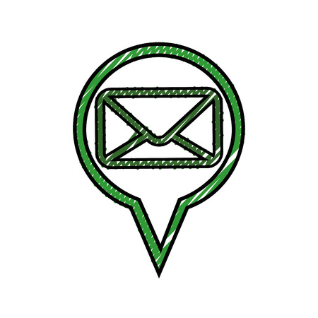 Email isolated symbol icon vector illustration graphic design icon vector illustration graphic design