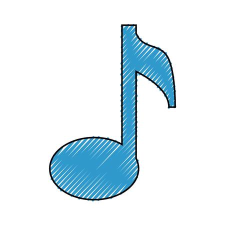 音楽注記シンボル アイコン ベクトル イラスト グラフィック デザイン