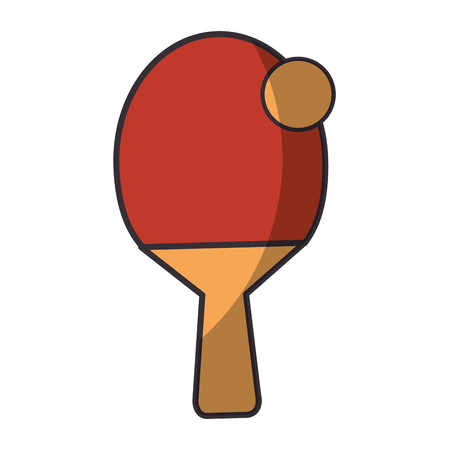 Tenis table sport icon vector illustration graphic design