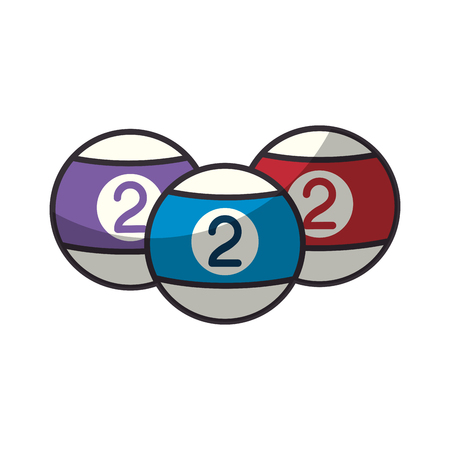 プール スポーツ ゲームのアイコン ベクトル イラスト グラフィック デザイン  イラスト・ベクター素材