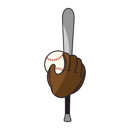 Baseball sport game icon vector illustrationgraphic design 向量圖像