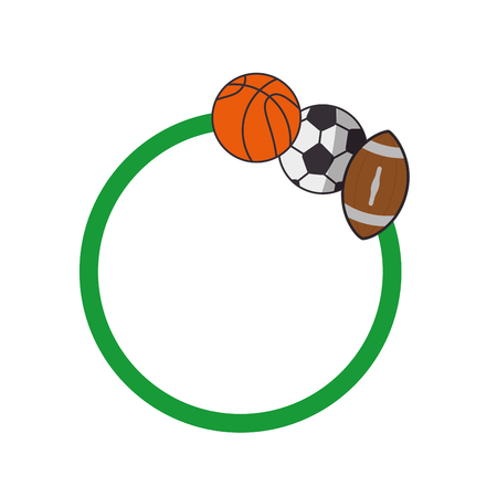 Set of Sport games icon vector illustration graphic design Stock Vector - 80535025