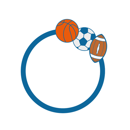 sportive: Set of Sport games icon vector illustration graphic design