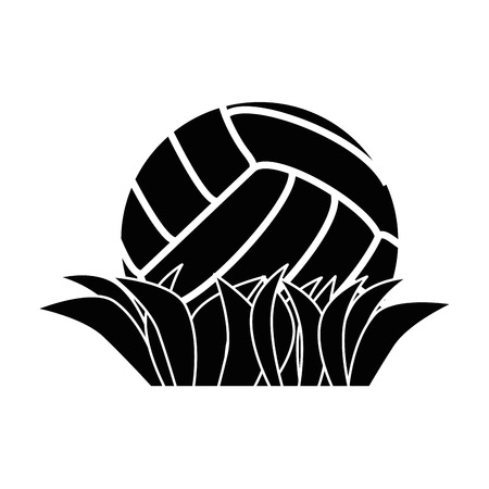 Volleyball ball symbol icon vector illustration graphic design