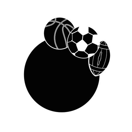 Set of Sport games icon vector illustration graphic design