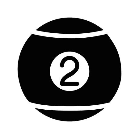 Pool sport game icon vector illustration graphic design