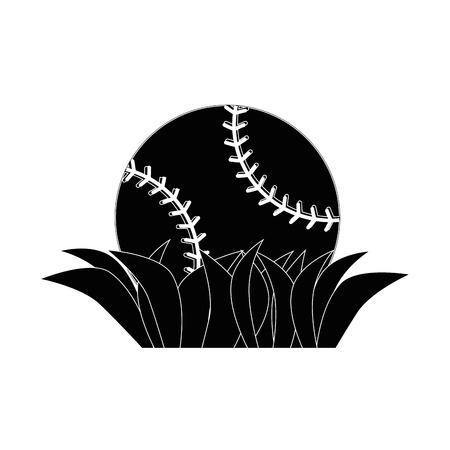 Baseball sport game icon vector illustrationgraphic design Ilustração