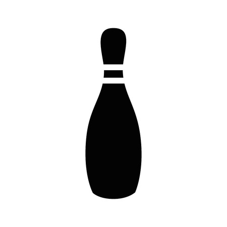 Bowling sport game icon vector illustration graphic design Imagens - 80535721