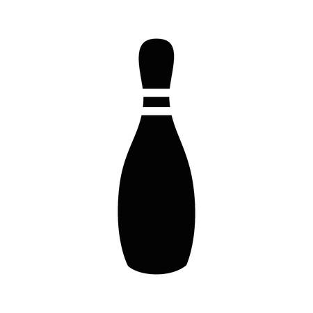 Bowling sport jeu icône vector illustration design graphique Banque d'images - 80535721