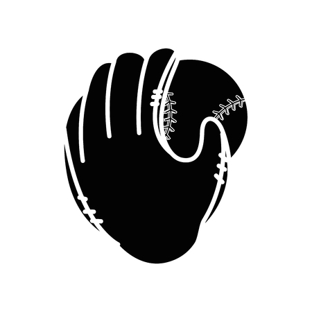 Baseball sport game icon vector illustrationgraphic design Ilustração