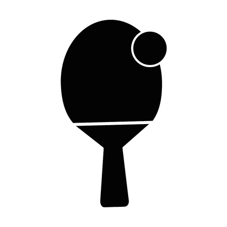 table tennis sport icon vector illustration graphic design