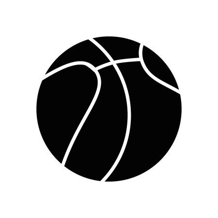 sportive: Basketball sport game icon vector illustration graphic design Illustration