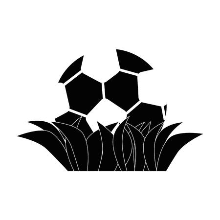 Soccer or football sport icon vector illustration graphic design