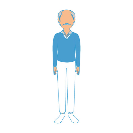 Adult man avatar icon vector illustration graphic design
