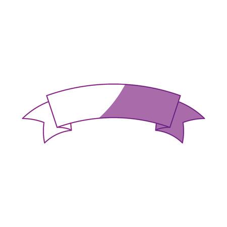 banner ribbon standard icon vector illustration graphic design Çizim