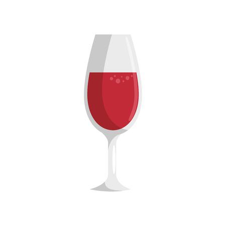 wine drink cup icon vector illustration graphic design