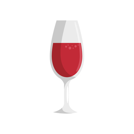 wine drink cup icon vector illustration graphic design