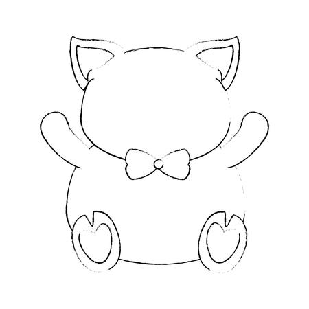 animal pig icon over white background vector illustration Illustration