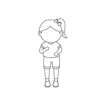 Illustrazione vettoriale icona del fumetto di esecuzione illustrazione grafica Archivio Fotografico - 80683692