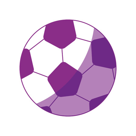 soccer ball cartoon icon vector illustration graphic design