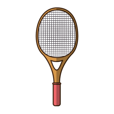 tennis racket isolated icon vector graphic illustration Stok Fotoğraf - 80683715