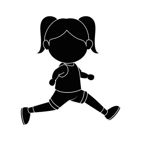 少女漫画のアイコン ベクトル図