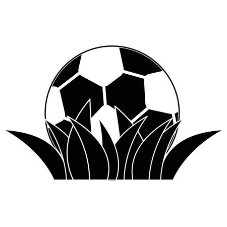 サッカー ボール漫画アイコン ベクトル イラスト グラフィック デザイン