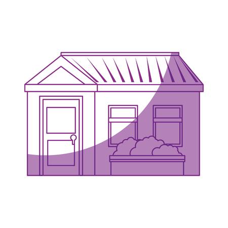 Isoliert home Gebäude Icon Vektor Grafik Illustration Standard-Bild - 80686574