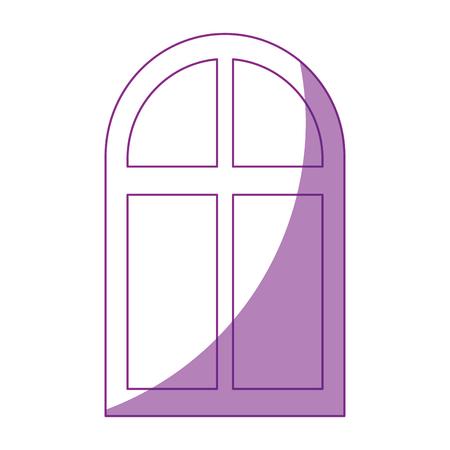 isolated window cartoon icon vector graphic illustration