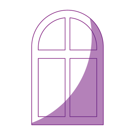 isolated window cartoon icon vector graphic illustration