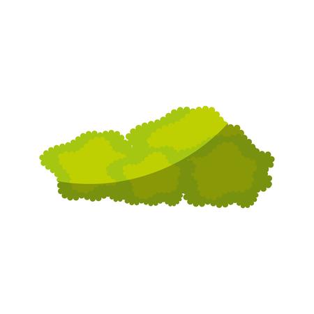 isolated bush cartoon icon vector graphic illustration