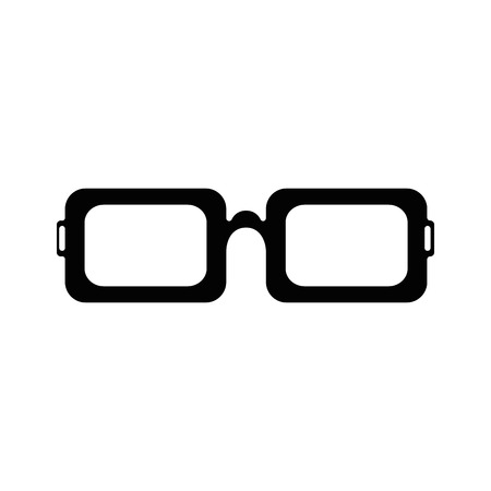 isolated glasses icon vector illustration graphic design Illustration
